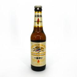 Japanese Kirin beer in bottle - KIRIN ICHIBAN BOTTLE