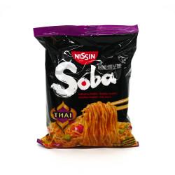 Bag of Instant Yakisoba Sautéed Noodles, Thai flavor, NISSIN
