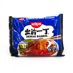 Bag of Instant Ramen with spicy beef flavor, NISSIN DEMAE​​​​​​​