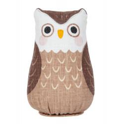 Bambola di canapa dipinta a mano, FUKURO, Lucky Owl
