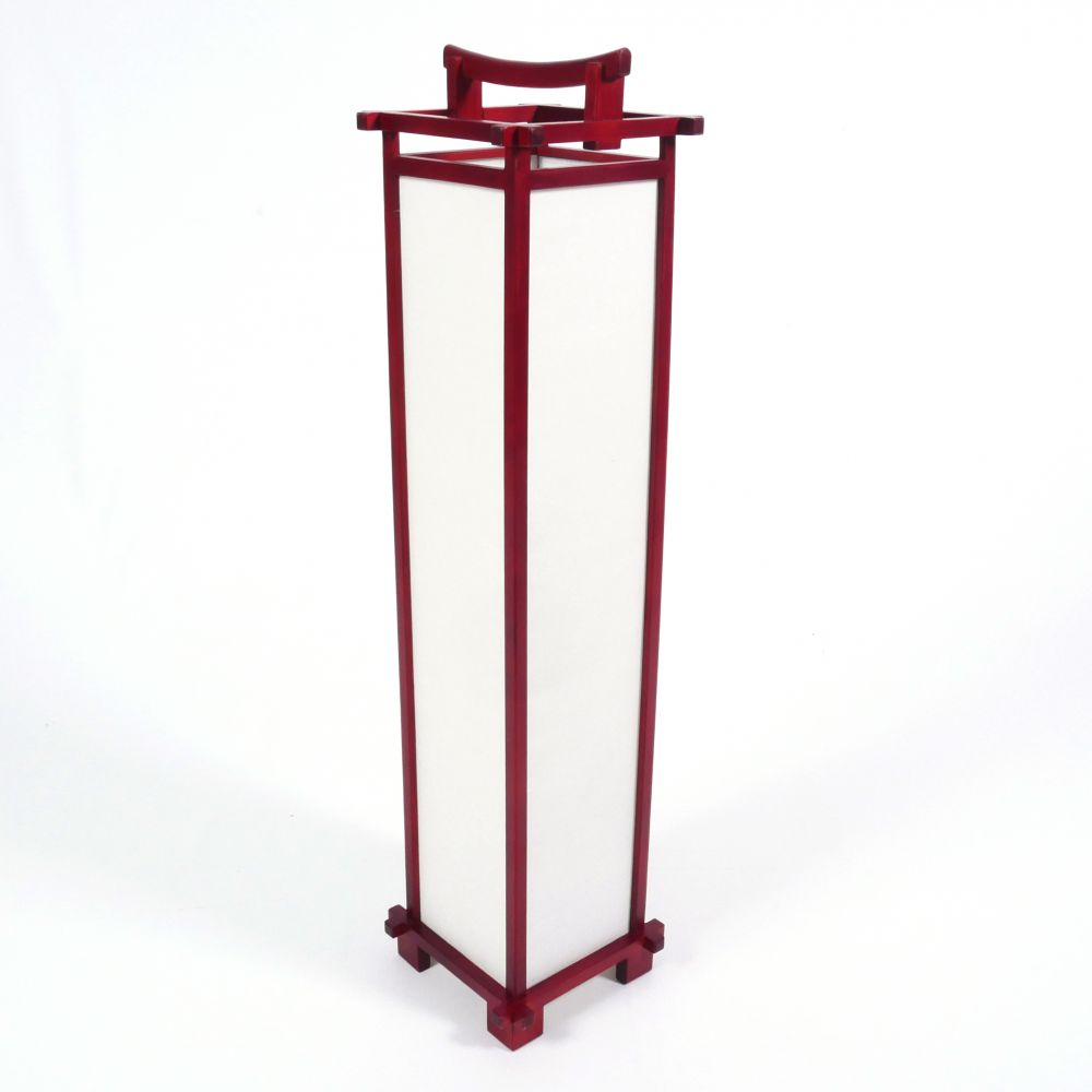 Great table lamp Japanese Red SHINDEN
