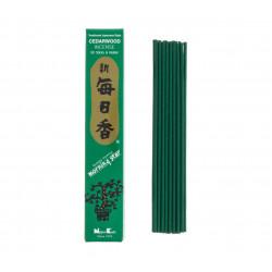 Confezione da 50 bastoncini di incenso giapponese, MORNINGSTAR, profumo di cedro