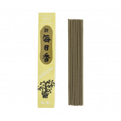 Box of 50 Japanese incense sticks, MORNING STAR, vanilla