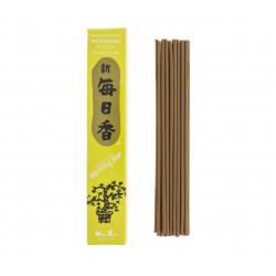 Confezione da 50 bastoncini di incenso giapponese, MORNINGSTAR, fragranza di patchouli