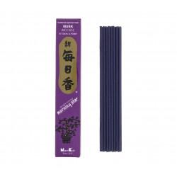 Confezione da 50 bastoncini di incenso giapponese, MORNINGSTAR, profumo di muschio