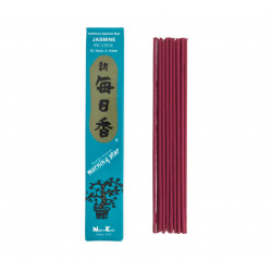 Box of 50 Japanese incense sticks, MORNINGSTAR, jasmine scent