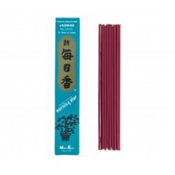 Confezione da 50 bastoncini di incenso giapponese, MORNINGSTAR, profumo di gelsomino