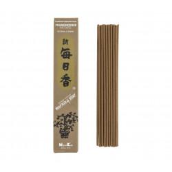 Confezione da 50 bastoncini di incenso giapponese, MORNING STAR FRANKINCENSE, profumo di olibanum