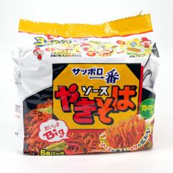 Sacchetto di noodles istantanei con salsa Yakisoba, SAPPORO ICHIBAN