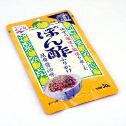 Assaisonnement pour riz goût sauce Ponzu - PONZU FURIKAKE