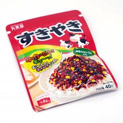 Assaisonnement pour riz goût Sukiyaki - SUKIYAKI FURIKAKE