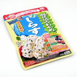 Condimento para el arroz con sabor a sardina - WAKAME SHIRASU