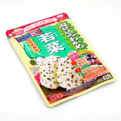 Sazonador de arroz con rábano y algas japonesas - WAKAME WAKANA