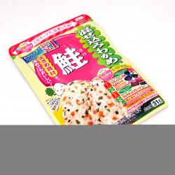 Sazonador de arroz con sabor a salmón - WAKAME SAKE