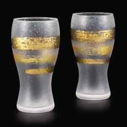 set de 2 verres à bière japonais PREMIUM KINICHIMONJI