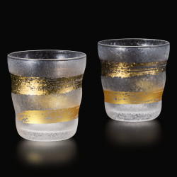 set di 2 bicchieri di whisky giapponesi PREMIUM KINICHIMONJI