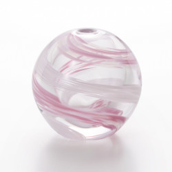 vaso di vetro giapponese, SAKURA NAGA, rosa