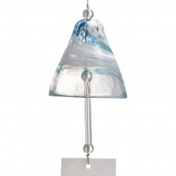 japanese wind bell in glass, FÛRIN, UMIKAZE