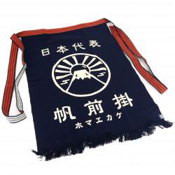Grembiule tradizionale in cotone giapponese Mont Fuji, MAEKAKE MT FUJI