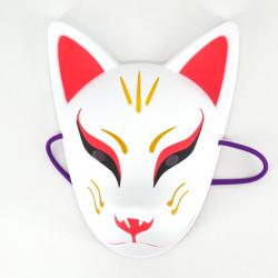 Traditional Japanese fox mask, KITSUNE