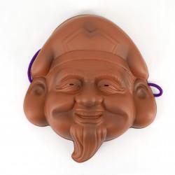 Maschera tradizionale giapponese, Daikokuten, Le sette divinità della felicità - SHICHI FUKUJIN