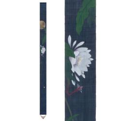 Fine Japanese tapestry in hemp, hand painted, GEKKA BIJIN, Beauty of the moon
