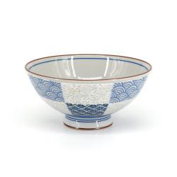 Japanese ceramic rice bowl, ICHIMATSU