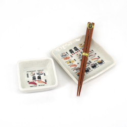 Japanese sushi set, SUSHI, sushi designs