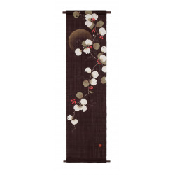 Arazzo di canapa, dipinto a mano, SANKIRAI, realizzato in Giappone