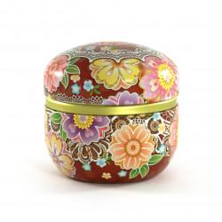 boîte à thé rouge japonaise 18SMIW