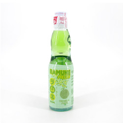 Limonata giapponese Ramune con aroma di melone - RAMUNE MELON 200ML