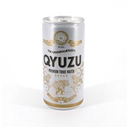 Japanese yuzu lemon soft drink in can - QYUZU