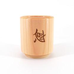 Bicchiere per sake giapponese con motivo Mt.Fuji - GARASU FUJISAN