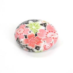 Japanese ceramic chopstick holder - HANA