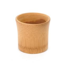 Vaso de sake abocinado de bambú - TAKE