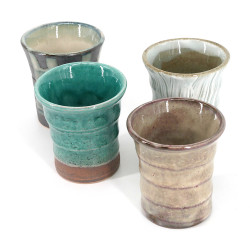 Set di 4 tazze giapponesi - ISSHO