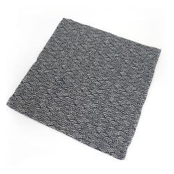 Taie d'oreiller 50x50 - MAKURA KABA - motif seigaiha
