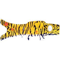 koi carp-shaped windsock, natural tiger - TORA