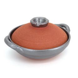 Vaso di argilla giapponese - DONABE, prodotto in Giappone