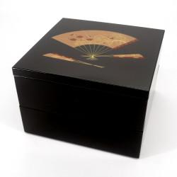 grande scatola da pranzo giapponese jyubako, SENSU, Fan