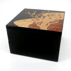 Large japanese lunch box jyubako, SAKURA NO HANA