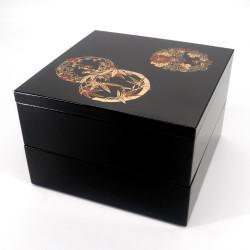 grande scatola da pranzo giapponese jyubako, TAKE HANA