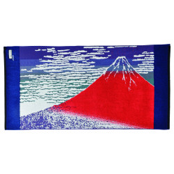 Asciugamano da bagno medio, ASCIUGAMANI DA BAGNO ASANAGI, Fuji rosso
