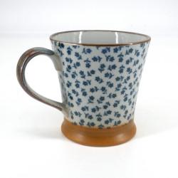 Tazza da tè giapponese, HANA, blu