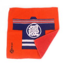 Hand towel, HAND TOWEL MACHI HIKESHI, orange