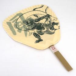 non folding japanese fan uchiwa, FUJIN RAIJIN