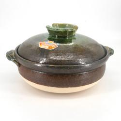 Vaso di argilla giapponese - DONABE MIDORI, prodotto in Giappone