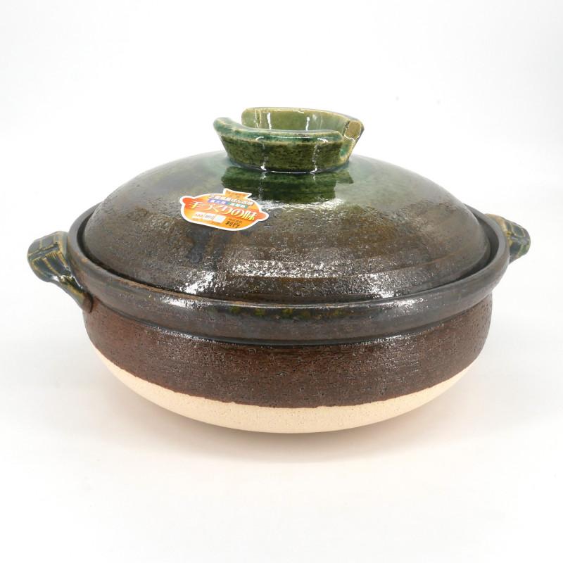 Japanese clay pot - DONABE MIDORI, made in Japan