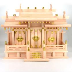 Shintô shrine miniature wooden Kamidana