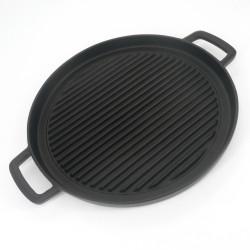 Japanese cast iron dish for grilling, YAKINIKU NABEMONO
